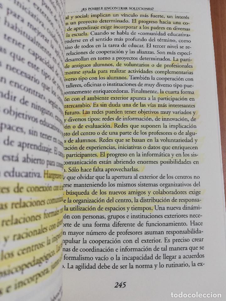 Libros de segunda mano: CONTROVERSIAS EN LA EDUCACIÓN ESPAÑOLA (ÁLVARO MARCHESI) - Foto 7 - 233612495