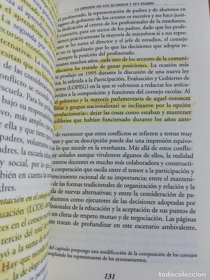 Libros de segunda mano: CONTROVERSIAS EN LA EDUCACIÓN ESPAÑOLA (ÁLVARO MARCHESI) - Foto 10 - 233612495