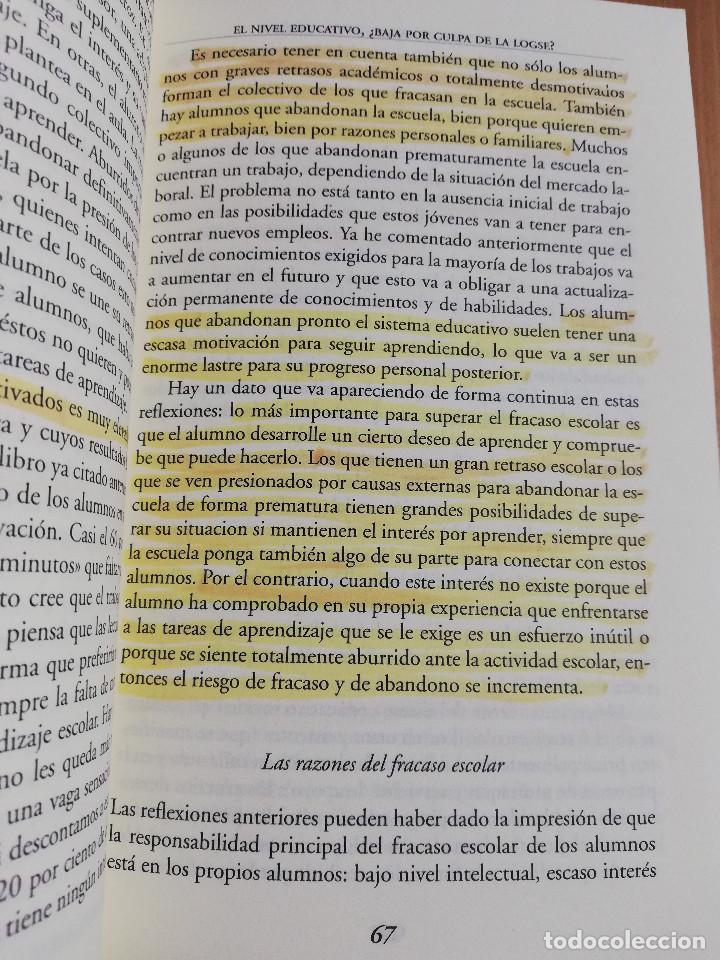 Libros de segunda mano: CONTROVERSIAS EN LA EDUCACIÓN ESPAÑOLA (ÁLVARO MARCHESI) - Foto 12 - 233612495
