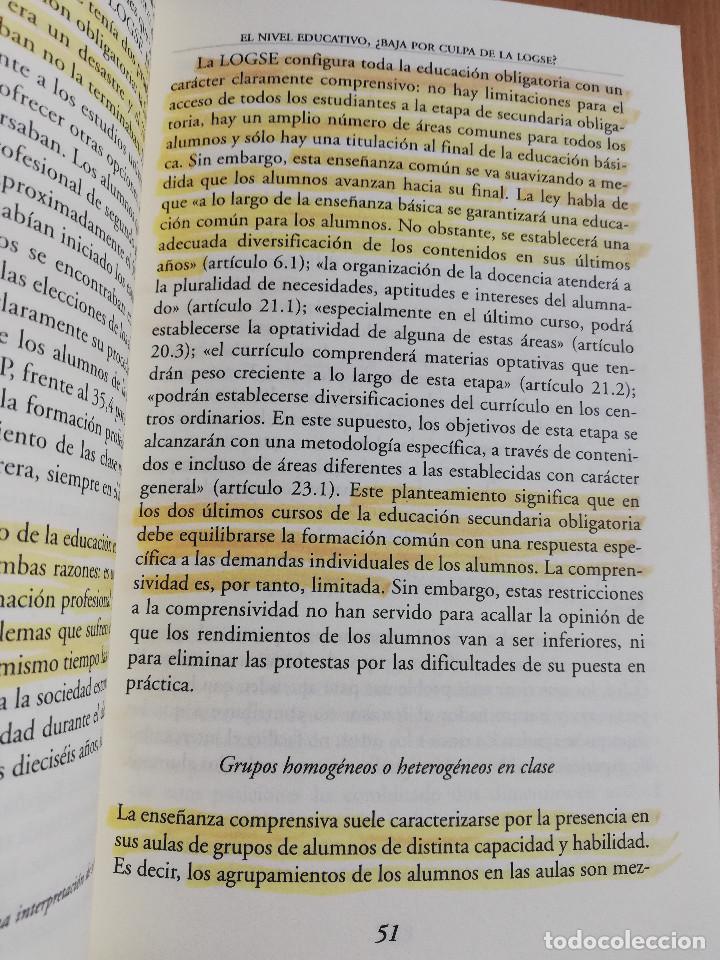 Libros de segunda mano: CONTROVERSIAS EN LA EDUCACIÓN ESPAÑOLA (ÁLVARO MARCHESI) - Foto 13 - 233612495
