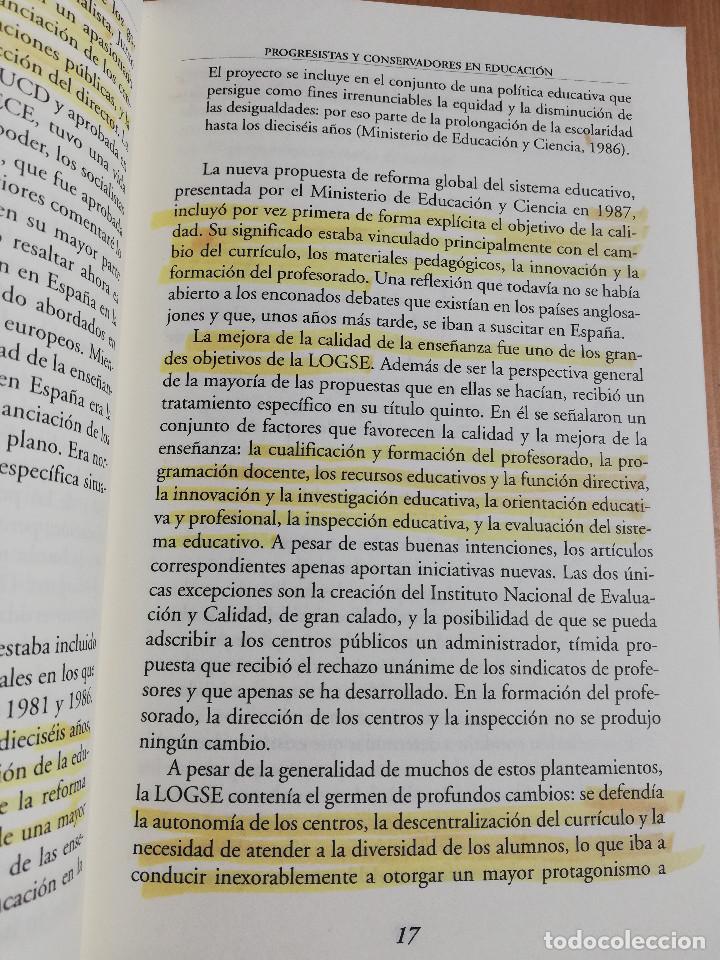 Libros de segunda mano: CONTROVERSIAS EN LA EDUCACIÓN ESPAÑOLA (ÁLVARO MARCHESI) - Foto 15 - 233612495