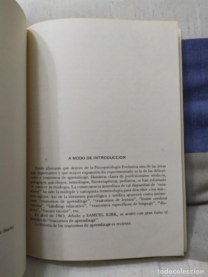 Libros de segunda mano: 1984. Aprendizaje y dislexia. Sindo Froufe Quintas. Dedicatoria del autor. - Foto 4 - 235597070