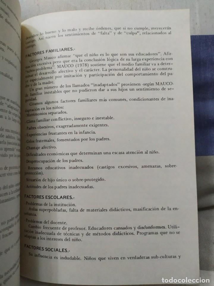 Libros de segunda mano: 1984. Aprendizaje y dislexia. Sindo Froufe Quintas. Dedicatoria del autor. - Foto 6 - 235597070