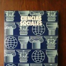 Libros de segunda mano: CIENCIAS SOCIALES. COL. ESTUDIOS Y EXPERIENCIAS EDUCATIVAS.. Lote 236149085