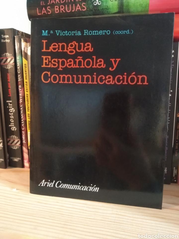 LENGUA ESPAÑOLA Y COMUNICACIÓN. M VICTORIA ROMERO. ARIEL. (Libros de Segunda Mano - Ciencias, Manuales y Oficios - Pedagogía)