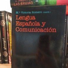 Libros de segunda mano: LENGUA ESPAÑOLA Y COMUNICACIÓN. M VICTORIA ROMERO. ARIEL.. Lote 237412800