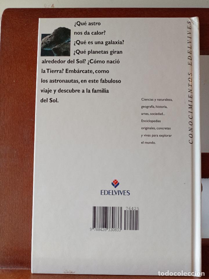 Libros de segunda mano: LA FAMILIA Y EL SOL. CONOCIMIENTOS EDELVIVES. ENVÍO CERTIFICADO 4.99. - Foto 2 - 240256555