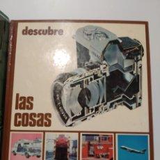 Libros de segunda mano: DESCUBRE LAS COSAS. EDITORIAL ORTELL. Lote 240975355