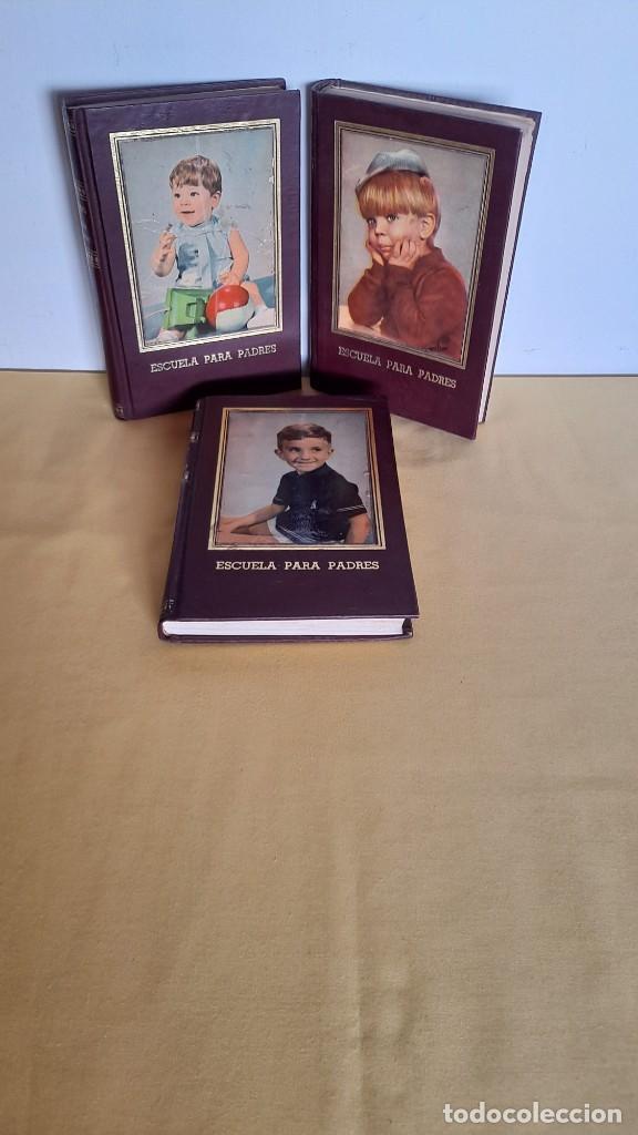EVA GIBERTI -ESCUELA PARA PADRES ( 3 TOMOS) - BUENOS AIRES 1968 (Libros de Segunda Mano - Ciencias, Manuales y Oficios - Pedagogía)