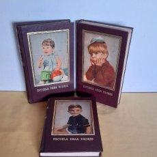 Libros de segunda mano: EVA GIBERTI -ESCUELA PARA PADRES ( 3 TOMOS) - BUENOS AIRES 1968. Lote 242021245