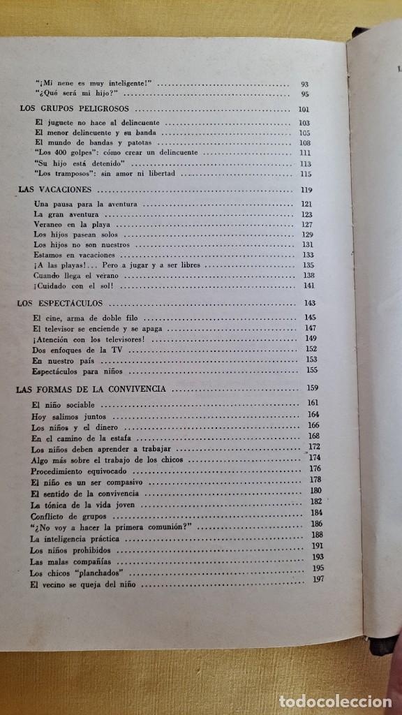 Libros de segunda mano: EVA GIBERTI -ESCUELA PARA PADRES ( 3 TOMOS) - BUENOS AIRES 1968 - Foto 19 - 242021245