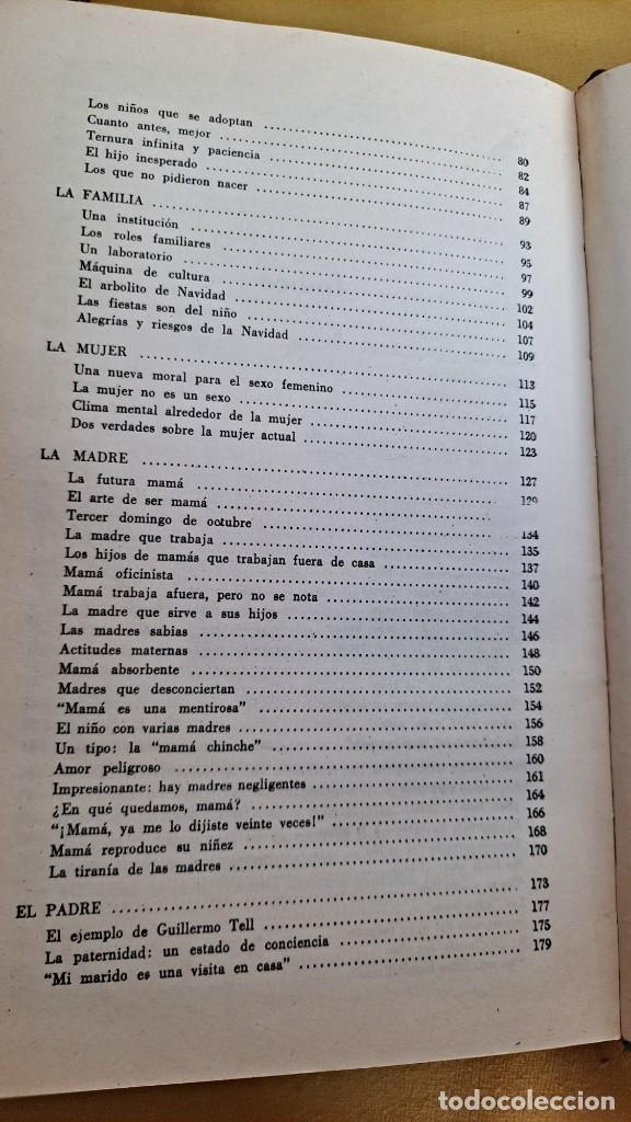 Libros de segunda mano: EVA GIBERTI -ESCUELA PARA PADRES ( 3 TOMOS) - BUENOS AIRES 1968 - Foto 28 - 242021245