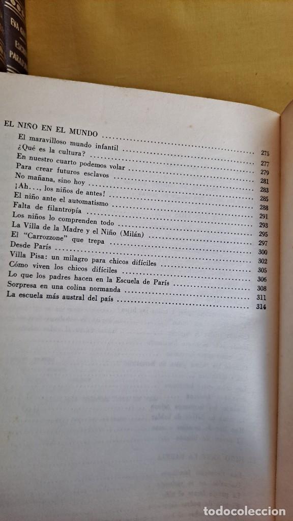 Libros de segunda mano: EVA GIBERTI -ESCUELA PARA PADRES ( 3 TOMOS) - BUENOS AIRES 1968 - Foto 30 - 242021245