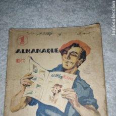 Libros de segunda mano: ANTIGUO LIBRO ALMANAQUE DE FECHAS Y PELAYO 1940. Lote 244614100