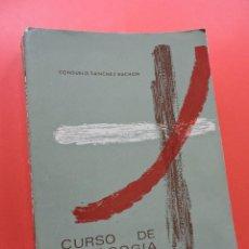 Libros de segunda mano: CURSO DE PEDAGOGÍA. SÁNCHEZ BUCHÓN, CONSUELO. 24 ED. COLECCIÓN P. POVEDA 1967. Lote 245181410