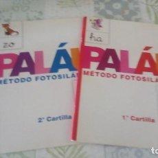 Libros de segunda mano: METODO FOTOSILABICO PALAU , 1ª Y 2ª CARTILLA , ANAYA. Lote 245196355