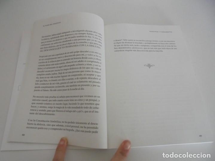 Libros de segunda mano: EL ALMA DEL DISLEXICO. RAFAEL DE MORA SANCHEZ. DEDICADO POR EL AUTOR. 2009 - Foto 12 - 245213250