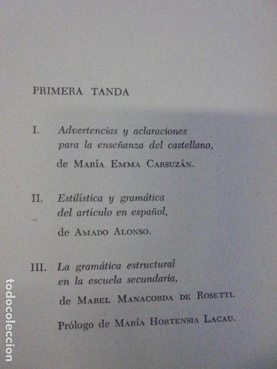 Libros de segunda mano: PALESTRA GRAMATICAL. CRITICA DE DOCTRINA Y NUEVAS POSTULACIONES. RAMON M. ALBESA. 1963 - Foto 9 - 245938880