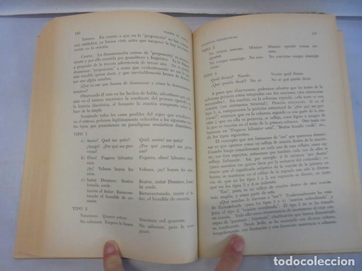 Libros de segunda mano: PALESTRA GRAMATICAL. CRITICA DE DOCTRINA Y NUEVAS POSTULACIONES. RAMON M. ALBESA. 1963 - Foto 12 - 245938880