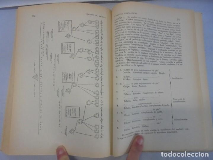 Libros de segunda mano: PALESTRA GRAMATICAL. CRITICA DE DOCTRINA Y NUEVAS POSTULACIONES. RAMON M. ALBESA. 1963 - Foto 13 - 245938880