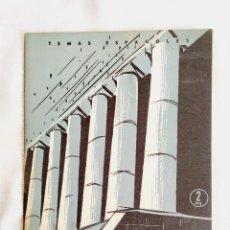 Libros de segunda mano: 1957 - UNIVERSIDADES - TEMAS ESPAÑOLES NÚM. 346. Lote 252837215