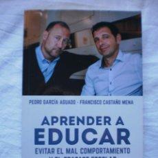 Libros de segunda mano: APRENDER A EDUCAR. Lote 253519040