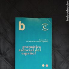 Libros de segunda mano: GRAMÁTICA ESENCIAL DEL ESPAÑOL. Lote 254433905
