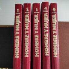 Libros de segunda mano: HOMBRE Y MUJER. COLECCIÓN DE PLANETA (1987). VOLÚMENES 1, 2, 3, 4 Y 6. Lote 255952385