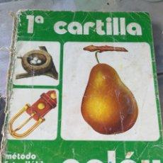 Libros de segunda mano: ANTIGUA,CARTILLA PALAU 1, MÉTODO FOTOSILABICO,. Lote 257866670