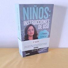 Libros de segunda mano: ROCIO RAMOS-PAUL Y LUIS TORRES - NIÑOS: INSTRUCCIONES DE USO - EDICIONES AGUILAR 2014. Lote 261650985