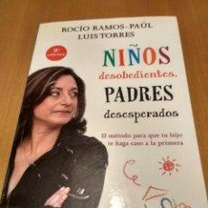Libros de segunda mano: NIÑOS DESOBEDIENTES PADRES DESESPERADOS. Lote 262702350