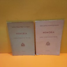 Libros de segunda mano: PONTIFICIA UNIVERSIDAD ECLESIASTICA DE SALAMANCA....MEMORIAS.... Lote 263738175