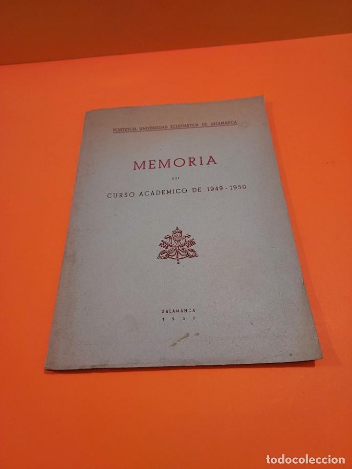 Libros de segunda mano: PONTIFICIA UNIVERSIDAD ECLESIASTICA DE SALAMANCA....MEMORIAS... - Foto 2 - 263738175