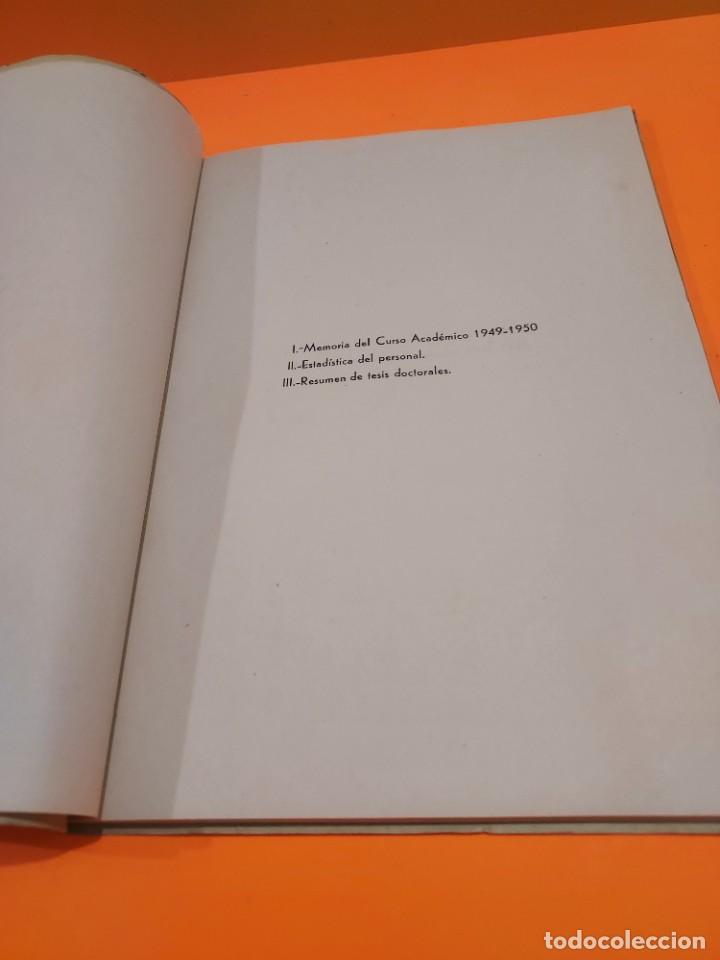Libros de segunda mano: PONTIFICIA UNIVERSIDAD ECLESIASTICA DE SALAMANCA....MEMORIAS... - Foto 5 - 263738175