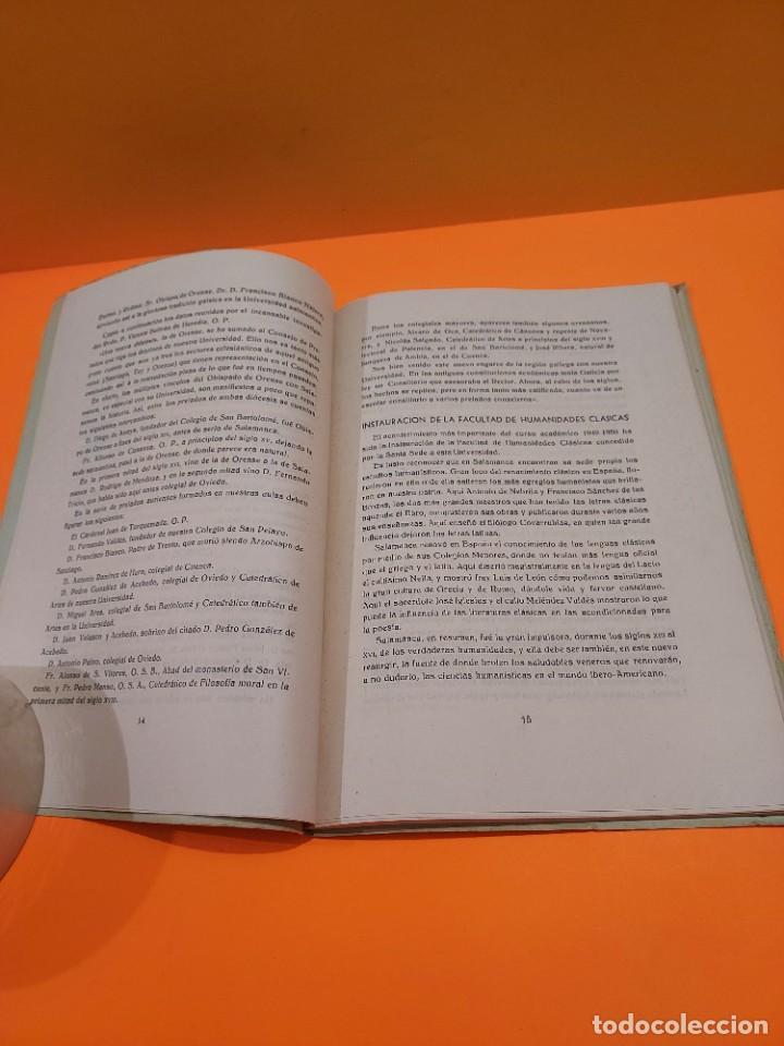 Libros de segunda mano: PONTIFICIA UNIVERSIDAD ECLESIASTICA DE SALAMANCA....MEMORIAS... - Foto 7 - 263738175