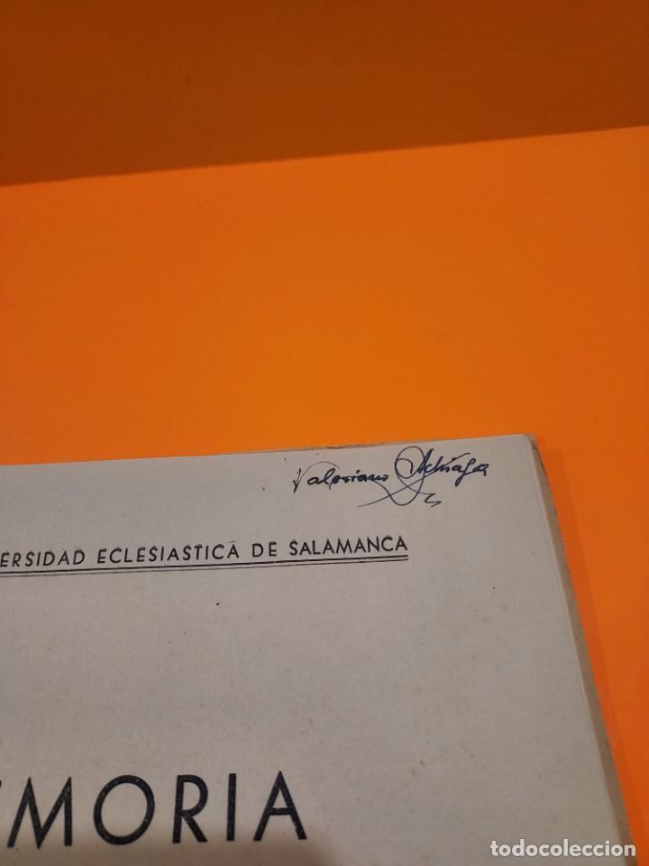 Libros de segunda mano: PONTIFICIA UNIVERSIDAD ECLESIASTICA DE SALAMANCA....MEMORIAS... - Foto 13 - 263738175