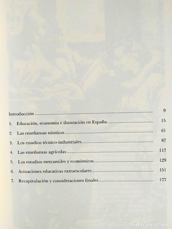 Libros de segunda mano: ESCOLANO: EDUCACIÓN EN LA ESPAÑA ILUSTRADA - Foto 2 - 263920880