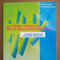 Libros de segunda mano: LA LECTO-ESCRITURA EN LA EDUCACIÓN INFANTIL, POR PILAR ARNAIZ Y MARÍA SOLEDAD RUIZ. LECTOESCRITURA.. Lote 263963870