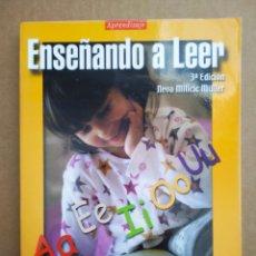 Libros de segunda mano: ENSEÑANDO A LEER, POR NEVA MILICIC MÜLLER (ALFAOMEGA, 2000). UNIVERSIDAD CATÓLICA DE CHILE.. Lote 263963985