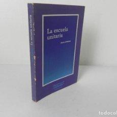 Libros de segunda mano: LA ESCUELA UNITARIA (JESÚS JIMÉNEZ) EDIT, LAIA-1983 1ª EDICIÓN. Lote 269359593