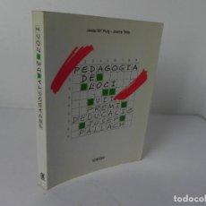 Libros de segunda mano: PEDAGOGÍA DE L'OCI (JOSEP Mª PUIG I JAUME TRILLA) EDIC. CEAC-1985 (EN CATALÁN). Lote 269362513