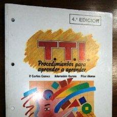 Libros de segunda mano: PROCEDIMIENTOS PARA APRENDER A APRENDER / CUADERNO DE TRABAJO 2 / ED. EOS EN MADRID 1991. Lote 269749488