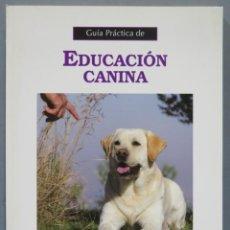 Libros de segunda mano: GUÍA PRÁCTICA DE EDUCACIÓN CANINA. BENIGNO PAZ RAMOS. Lote 276392673