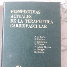 Libros de segunda mano: PERSPECTIVAS ACTUALES DE LA TERAPEUTICA CARDIOVASCULAR-EDITORIAL FACTA-AÑO 1968.. Lote 276462293