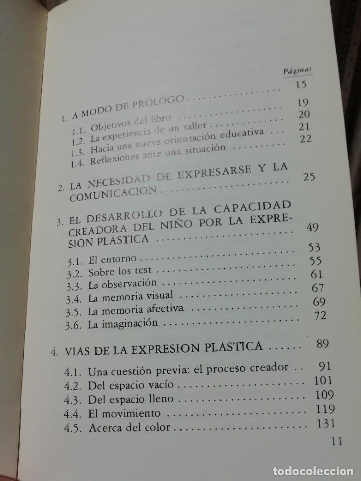 Libros de segunda mano: LAS ARTES PLÁSTICAS EN LA ESCUELA - Foto 3 - 276710318