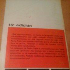 Libros de segunda mano: LA EDUCACIÓN COMO PRÁCTICA DE LA LIBERTAD. Lote 276711288
