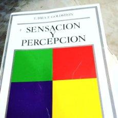 Libros de segunda mano: SENSACION Y PERCEPCION F. BRUCE GOLDSTEIN EDITORIAL DEBATE PSICOLOGIA PEDAGOGIA. Lote 278298118