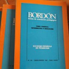 Libros de segunda mano: LOTE DE 26 LIBROS DE PEDAGOGÍA, DESDE 1985 HASTA 1988. Lote 283926588