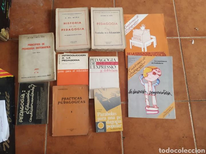 LOTE DE 10 LIBROS DE PEDAGOGÍA AÑOS 60 (Libros de Segunda Mano - Ciencias, Manuales y Oficios - Pedagogía)