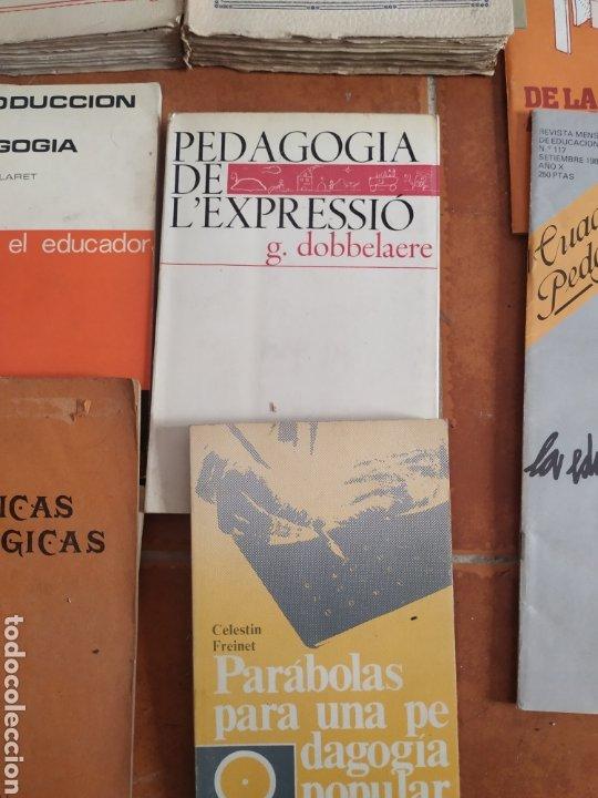 Libros de segunda mano: Lote de 10 libros de pedagogía años 60 - Foto 4 - 283935378